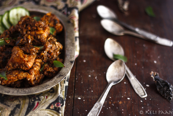 My take on Rick Steins Chettinad Chicken...